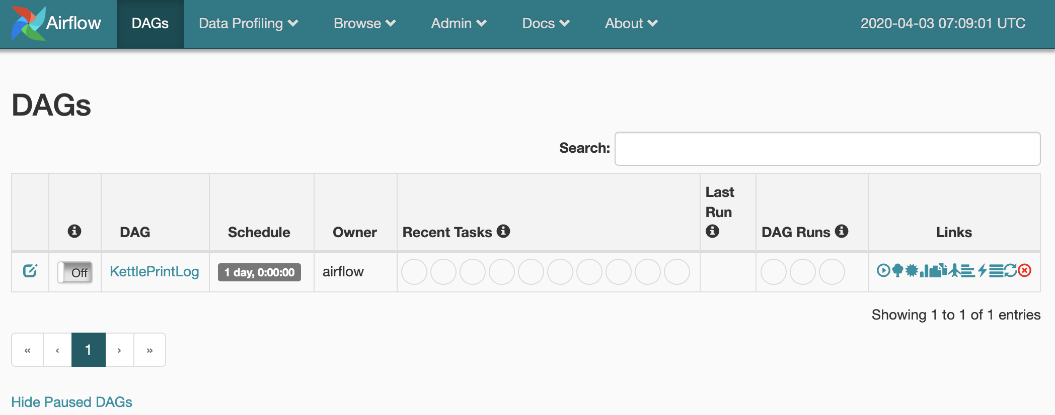 Scheduling a PDI job on Apache Airflow